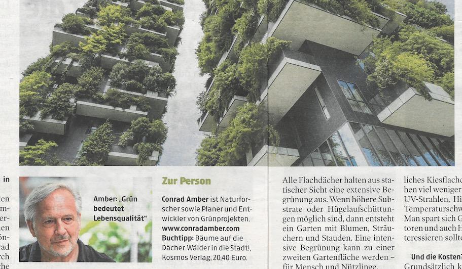 Gärten, die in den Himmel wachsen – Kleine Zeitung Interview 18.6.2021