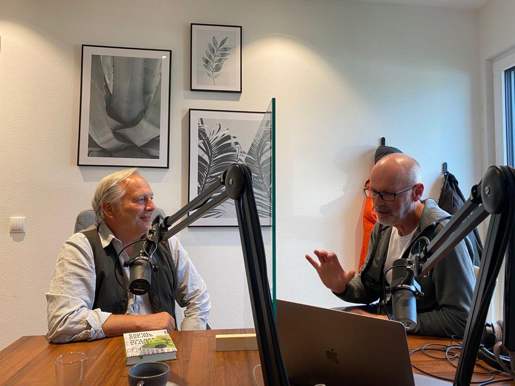 """Podcast- Interview mit Peter Wohlleben """"Stadtbäume""""  4.10.2021"""